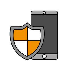 cyber security digital vector image