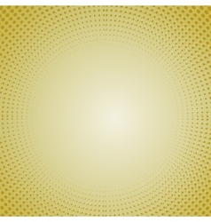 Halftone Patterns Dots on Orange Background vector