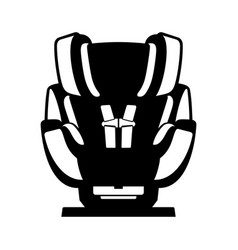 safety car seat for baby vector image