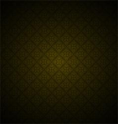 Thai pattern background vector