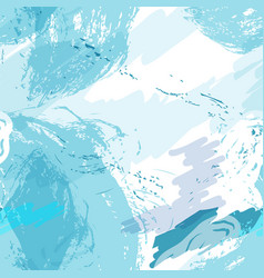 stylized seamless pattern background hand-drawn vector image
