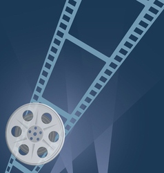 Film tape camera vector