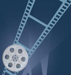film tape camera vector image