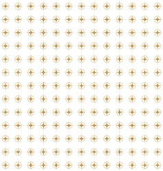 Golden Retro Pattern vector image
