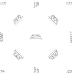 King size mattress pattern seamless vector