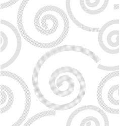 Pattern from spirals vector