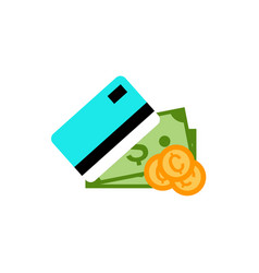 Payment method simple graphic vector
