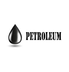 Petroleum industry horizontal banner with oil vector
