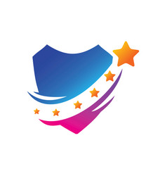 success star logo design template isolated vector image