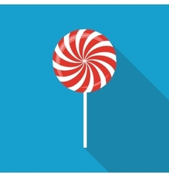 Sweet Candy Flat Icon with Long Shadow vector