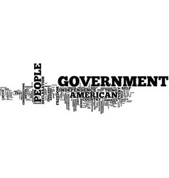 The cornerstone of government text background vector