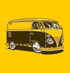vintage car 13 vector image