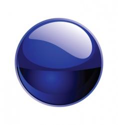 shiny sphere vector image