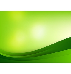 Abstra background green curve and layed element vector image