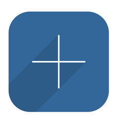 facebook social network icon add followers vector image