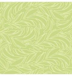 Seamless abstract pattern with bright feather vector image vector image
