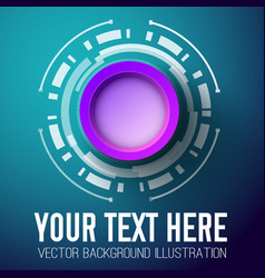 Abstract template using for advertising your text vector