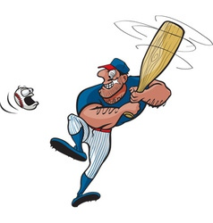 Baseball stud vector