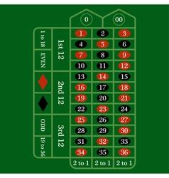 Roulette Table IconRoulette Table IconRoulette vector