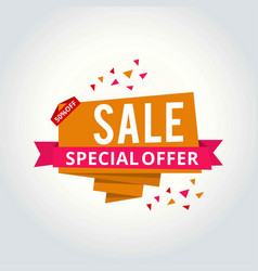 super sale this weekend special offer banner up vector image