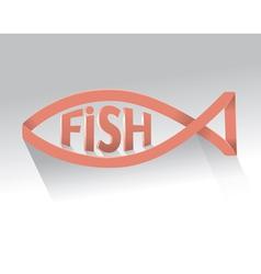 Fish logo vector