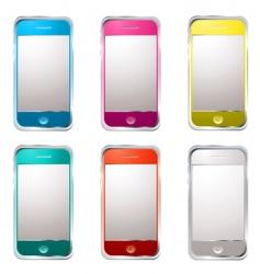 techno phone variation vector image