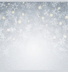 blowing christmas background with moment vector image
