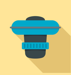 dosing pool device icon flat style vector image