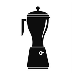 electric mixer icon simple style vector image