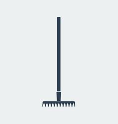Rake icon design vector