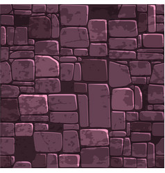 seamless background texture color stone wall vector image vector image