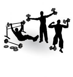 athletics men vector image vector image