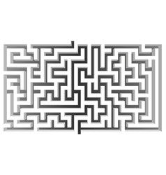 3d isometric maze design solve business issues vector