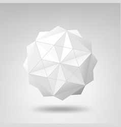 abstract geometric structure vector image