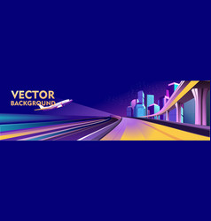 banner traffic vector image
