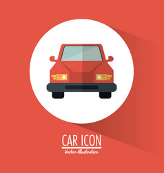 Car vehicle transportation design vector