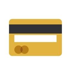 credit card money bank icon vector image