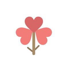 flower flora floral flower nature flat color icon vector image