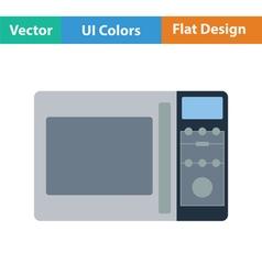 Micro wave oven icon vector image
