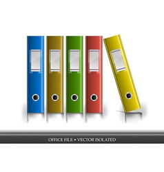 Office file isolated vector