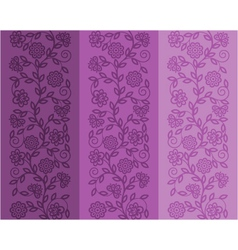 Seamless floral patter vector image vector image