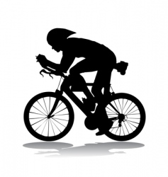 bicycle race vector image vector image