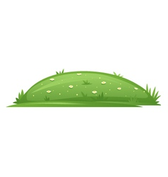 Glade with Grass vector image vector image