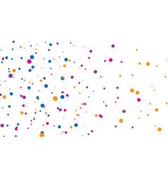 background splash dot chaotic circles vector image