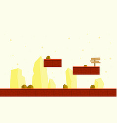 Collection stock of game background style vector