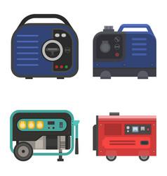 generator power generating portable vector image