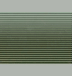 metal background with a pattern steel green wall vector image
