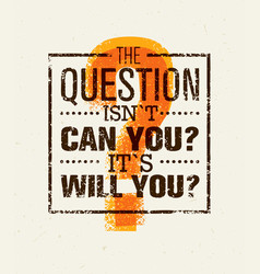 question everything creative concept vector image