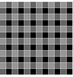 seamless simple geometric pattern in black vector image