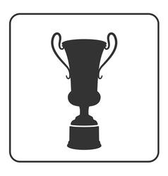 Trophy cup icon 3 vector